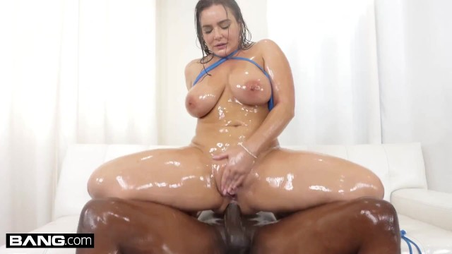 BANG Surprise - Curvy Babe Takes BBC In Her Tight Asshole