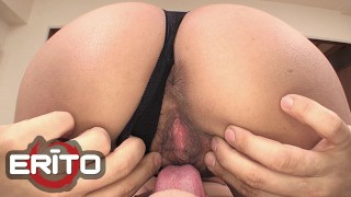 Erito - Gorgeous Japanese Milf Gets An Amazing Titty Fuck And Cum All Over Her Natural Big Titties