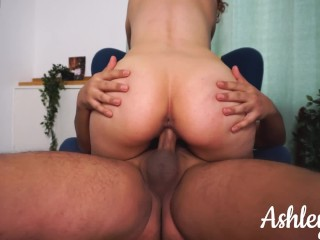 Please Cum Inside Me! He Couldn't Hold It – Ashley Ve