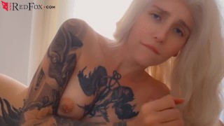Sexy Blonde In Tattoos Fucks Hard With Best Friend - Amateur Video