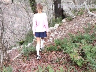not brother films not sister in the woods cumshot on ass