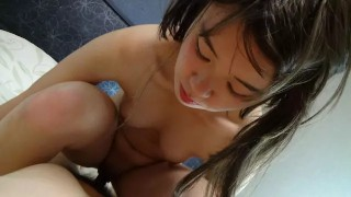 Japanese Teen Amateur POV Sex And Creampie