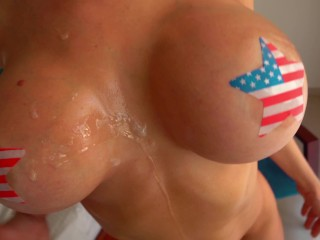 Busty Milf Plays With My Cock! free porn videos