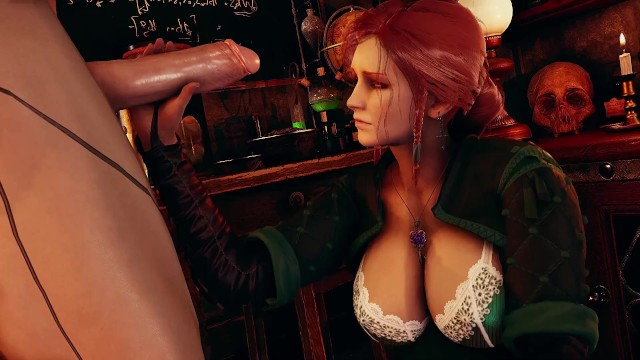 Honey select2 Witcher Triss ntr