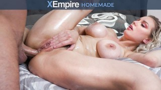 HardX - Busty Blonde Loves Being Fucked Ass To Pussy