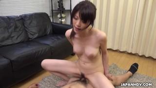 Japanese brunette, Sara Yurikawa got 69-ed, uncensored