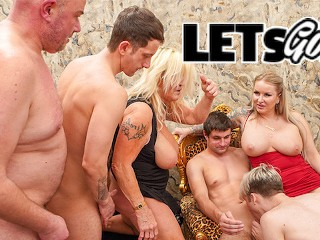 Rich Couple throw a Decadence Party party 2 alexis crystal bisex
