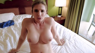 Fucked My Step Moms New Friend, then Turned it into a Threesome - Amiee Cambridge and Cory Chase
