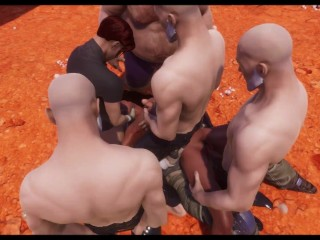GANGBANG compilation featuring Maya (Wildlife 3d animation)