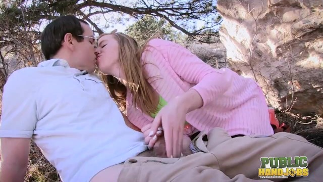 PublicHandjobs - Outdoor Hike Turns Into a Handjob With Kierra Wilde