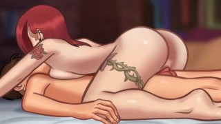 Summertime Saga - Cookie Jar - All Sex Scenes Only - Grace #1 Part 68