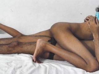 sri lankan school girl fuck with massage room boy while boyfriend is outside