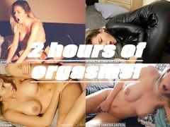 2-Hour Orgasm Compilation! Part 1 - 100% Real - Samantha Flair