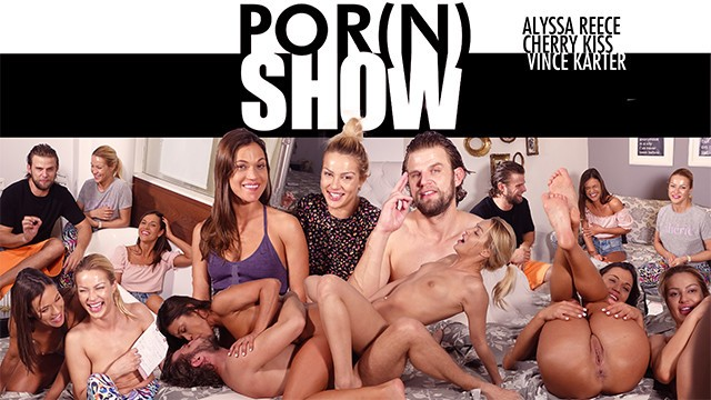 PORN SHOW WITH ALYSSA REECE CHERRY KISS AND VINCE KARTER