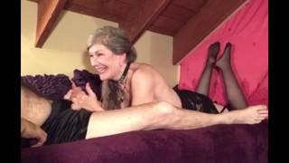 Mature Sexy Milf Gives Loving Sensual BJ Deepthroat Cock Worship CIM Swallow 😋