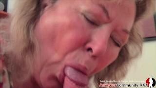 Chubby Milf receives a warm cum after a rough sex! AmateurCommunity.xxx