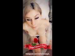 Girl gave a great blowjob for valentine's day - notfallenangel | Recorded Cam Show