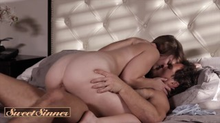 Sweet Sinner - Virgin Laney Grey fucks her fiance on vacation for first time