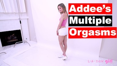 Passionate Blonde has Great Sex & Hard Orgasms at Audition