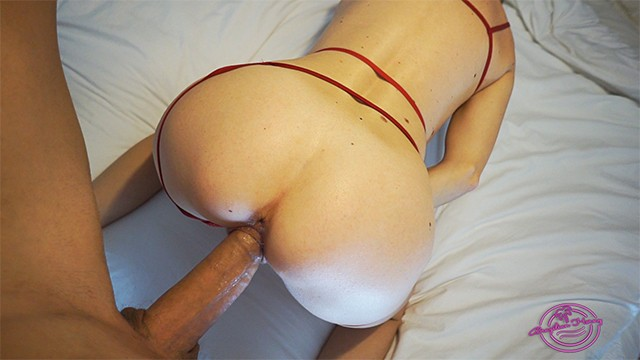 Fuck my pussy in lingerie Doggy Fuck In Red Lingerie To Celebrate Valentine S Day He Can T Handle And Cum In My Pussy Pornhub Com