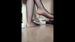Nylon Feet Fetish