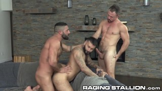 RagingStallion - 3 Horny Hotties Were Born To Bone