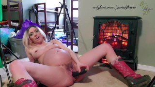 Cum warm this Petite Pregnant MILF up with your creampie!!! Teaser