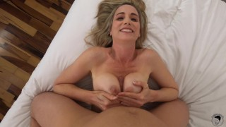 Hot Cougar Fucked By Young Hunk | Lillly James