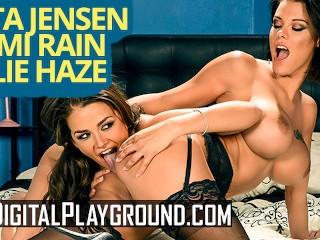 Digitalplayground - Big tit Peta Jenson and Allie Haze facesit and eat pussy hot bhabhi sex video