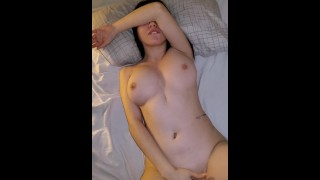 Hot 18 Years Old Plays With Her Big Tits And Pussy