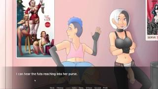 Futa Dom World - Sodomized on the sex shop (5)