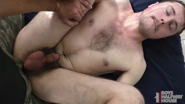 Submissive Hairy Teen Fucked Bareback POV By Older Guy