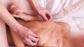 My little breast needs your sperm! - great handjob and funny tickling from Hotkralya