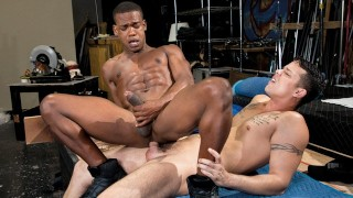 HotHouse - Adrian Hart and Nic Sahara Fuck Hard On Lunch Break