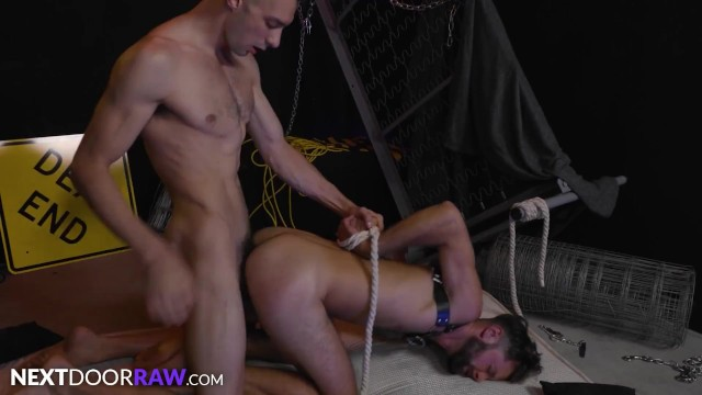 NextDoorRaw - Johnny B Ties Up & Dominates Fuck Toy Sub Andre Grey