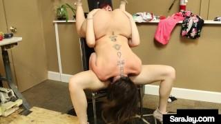 MILF Sara Jay Makes Hot Lauren Phillips Cum With Her Tongue!