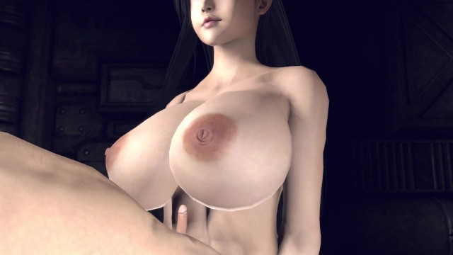 Tifa Steals Your Penis Size and Adds it to her Boobies!