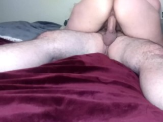 Step sister blows and rides step brothers cock, finally! 69! Cowgirl!