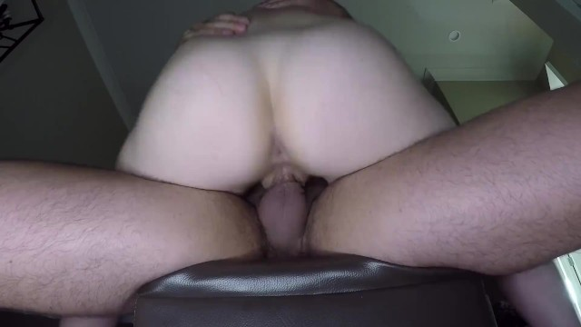 Slipping My Cock In Her Ass + Anal Creampie And Pissing: Watch Her Cum On M ...