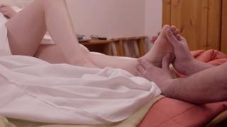 Italian milf in romantic sex