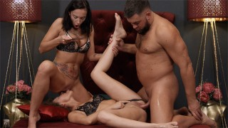 MyDirtyNovels - Dulce & Mary Frost - Babe shares a rod with her bestie