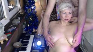 MILF slut goddess AimeeParadise: hard games with big tits and cunt! Nipples torment, fisting, orgasm