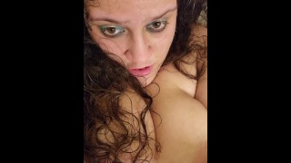 Touches teases thick Latina play, sucks and rubs phat pussy