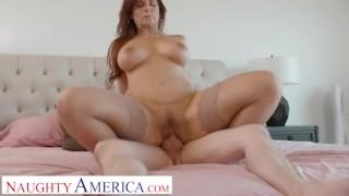 Naughty America - Hot MILF Syren De Mer loves cock