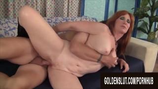 Golden Slut - Intercourse With a Slutty Mature Compilation