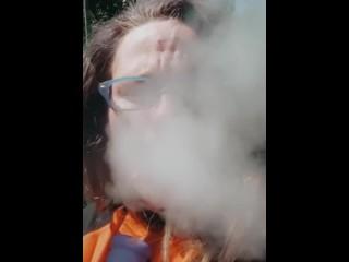 Smoking my calm time