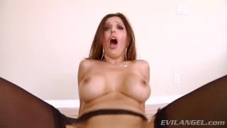 POV Big Cock Anal For MILF Francesca Le