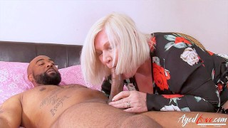 AGEDLOVE Mature Lady With Two Hardcore Partners