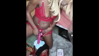Ebony Girl Bondage