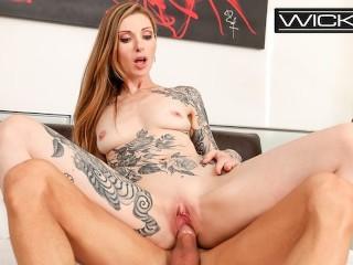 Wicked - Hot Tattooed Babe Gets Fucked Hard